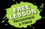 Free lessons when you recommend friends